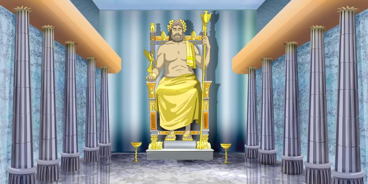 Beeld van Zeus