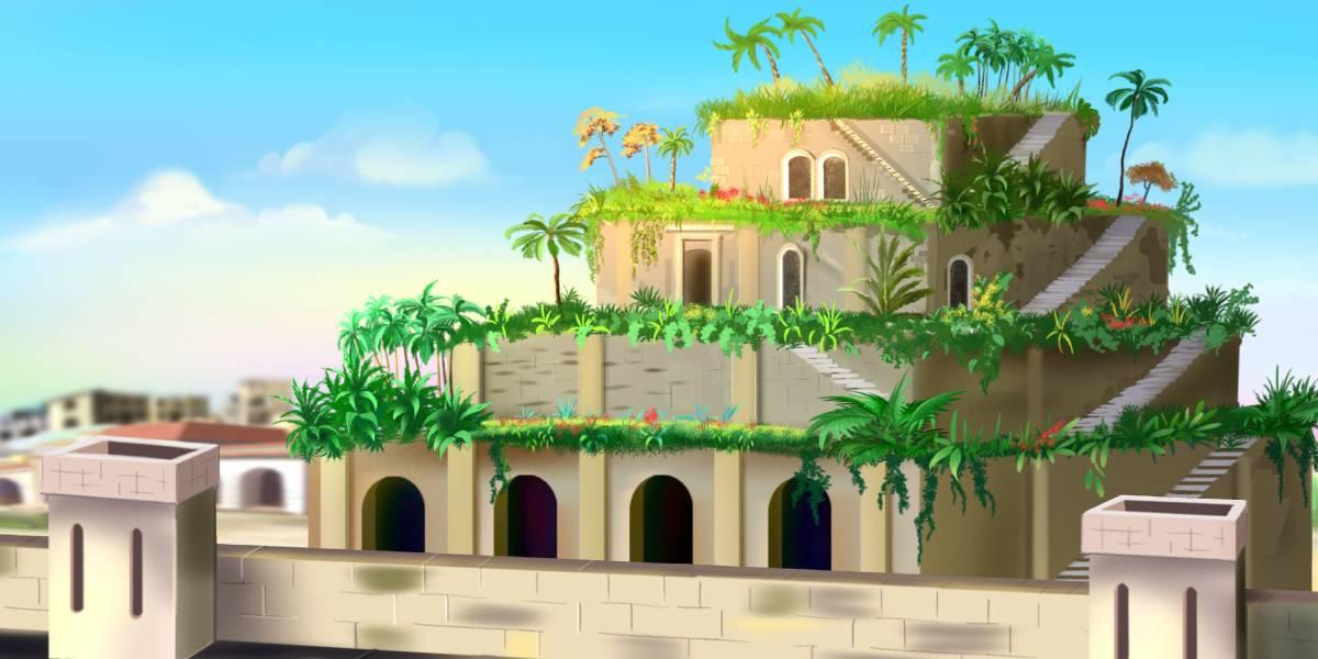 Hangende tuinen van Babylon